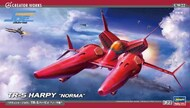 Hasegawa  1/72 Crusher Joe TR5 Harpy Norma Space Fighter (New Tool) - Pre-Order Item HSG64522