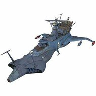 Hasegawa  1/1500 Captain Harlock Space Pirate Battleship Arcadia 2nd Ship Dimension Voyage Phantom Death Shadow (Ltd Edition) (Re-Issue) HSG64712