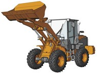 Hasegawa  1/35 Hitachi ZW100-6 Wheel Loader Construction Machinery HSG66004