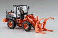 Hasegawa  1/35 Hitachi ZW100-6 Log Grapple Wheel Loader Construction Machinery - Pre-Order Item HSG66105