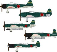 Hasegawa  1/450 IJN Carrier-Based Aircraft Set (18 Total) HSG72156