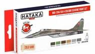 Hataka Hobby  Hataka Red Line Mikoyan MiG-29A/MiG-29UB 4-colour scheme paint HTKAS105