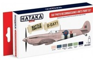 Hataka Hobby  Hataka Red Line (Airbrush-Dedicated) Red Line (Airbrush-Dedicated): RAF Photo Recon Units 1940-45 Paint Set (6 Colors) 17ml Bottles HTKAS23