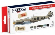 Hataka Hobby  Hataka Red Line (Airbrush-Dedicated) Red Line (Airbrush-Dedicated): Luftwaffe Legion Condor Spain 1936-39 Paint Set (6 Colors) 17ml Bottles HTKAS32