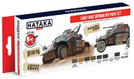 Hataka Hobby  Hataka Red Line Red Line (Airbrush-Dedicated) Early WWII German AFV 1923-43 (8 Colors) HTKAS88