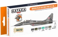 Hataka Hobby  Hataka Orange Line Set Modern Polish Air Force Volume 1 HTKCS017