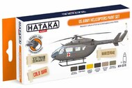 Hataka Hobby  Hataka Orange Line Set US Army Helicopters HTKCS019