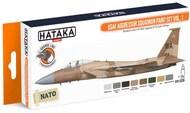 Hataka Hobby  Hataka Orange Line Set USAF Aggressor Squadron Volume 2 HTKCS029