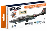 Hataka Hobby  Hataka Orange Line Set Polish Navy / Air Force TS-11 HTKCS046