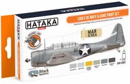 Hataka Hobby  Hataka Orange Line Set Early US Navy & USMC HTKCS053