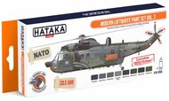 Hataka Hobby  Hataka Orange Line Set Modern Luftwaffe Volume 2 HTKCS055