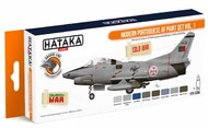 Hataka Hobby  Hataka Orange Line Set Modern Portuguese Air Force Volume 1 HTKCS056