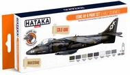 Hataka Hobby  Hataka Orange Line Set USMC AV-8 Harrier (Early Schemes) HTKCS063