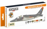 Hataka Hobby  Hataka Orange Line Set Modern Belgian Air Force Volume 2 HTKCS064