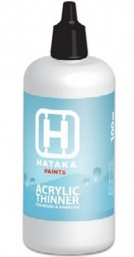 Hataka Hobby  Thinner Acrylic Thinner 100ml Bottle HTKXP1