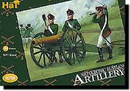 Hat Industries  1/72 Napoleonic Russian Artillery & Cannons HTI8010
