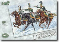 Hat Industries  1/72 Napoleonic Russian Dragoons & Horses HTI8012