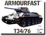 Hat Industries  1/72 Armourfast: T-34/76 HTI99005