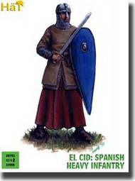 Hat Industries  28mm El Cid Spanish Heavy Infantry HTI28001