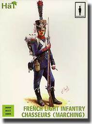 Hat Industries  28mm Napoleonic French Light Infantry Chasseurs Marching HTI28004