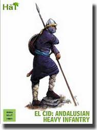 Hat Industries  28mm El Cid Andalusian Heavy Infantry HTI28005