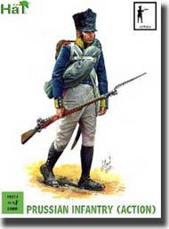 Hat Industries  28mm Napoleonic Prussian Infantry Action HTI28014