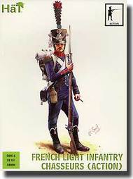 Hat Industries  28mm Napoleonic French Light Infantry Chasseurs Action HTI28016