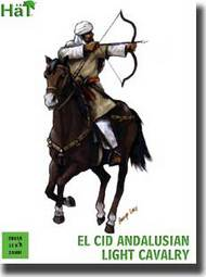 Hat Industries  28mm El Cid Andalusian Light Cavalry & Horses (12 Mounted) HTI28018