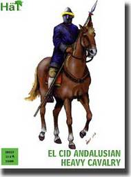 Hat Industries  28mm El Cid Andalusian Heavy Cavalry & Horses (12 Mounted) HTI28019