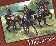 Hat Industries  1/72 Napoleonic French Dragoons & Horses HTI8009
