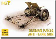 Hat Industries  1/72 German PaK 36 Anti-Tank Gun HTI8149