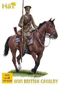 Hat Industries  1/72 WWI British Cavalry (12 Mtd) (Re-Issue) HTI8272