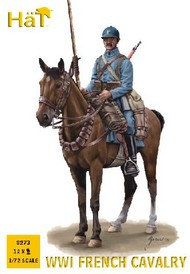 Hat Industries  1/72 WWI French Cavalry (12 Mtd) (Re-Issue) HTI8273