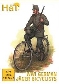 WWI German Jaeger Bicyclists (12) #HTI8276