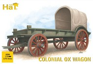 Colonial Ox Wagon (3) w/Figures & Oxen #HTI8286