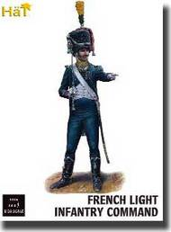 Hat Industries  1/32 Napoleonic French Light Infantry Command - Pre-Order Item HTI9305