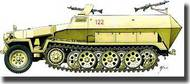 Hat Industries  1/72 Armourfast: German Sd.Kfz. 251/1 Halftrack HTI99019