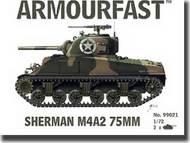 Hat Industries  1/72 Armourfast: Sherman M4A2 75mm Tank HTI99021