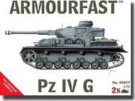 Hat Industries  1/72 Armourfast: Panzer IV G Tank (2) HTI99027