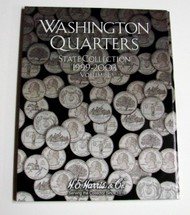 H.E. HARRIS   N/A Vol.1, 1999 thru 2003 Washington State Quarters Coin Folder HEH2580