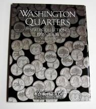 H.E. HARRIS   N/A Vol.1, 1999 thru 2003 Washington State Quarters Coin Folder HEH2580