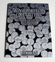 H.E. HARRIS   N/A Vol.2, 2004 thru 2008 Washington State Quarters Coin Folder HEH2581