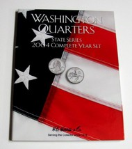 H.E. HARRIS   N/A 2004 Complete Year Washington State Quarters Coin Folder (D)<!-- _Disc_ --> HEH2587