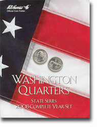 H.E. HARRIS   N/A 2008 Complete Year Washington State Quarters  Coin Folder (D)<!-- _Disc_ --> HEH2591