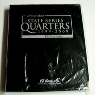 H.E. HARRIS   N/A Washington Quarter 1999-2008 State Album HEH2601
