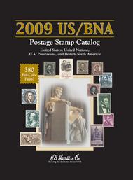 H.E. HARRIS   N/A 2009 US/BNA Postage Stamp Catalog (Hardback Spiral Bound) (D)<!-- _Disc_ --> HEH26555