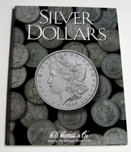 H.E. HARRIS   N/A Silver Dollar Plain Coin Folder HEH2665