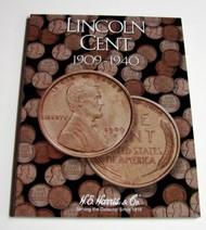 H.E. HARRIS   N/A Lincoln Cent 1909-1940 Coin Folder HEH2672