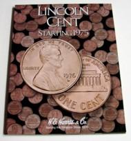 H.E. HARRIS   N/A Lincoln Cent 1975-2013 Coin Folder HEH2674