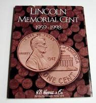 H.E. HARRIS   N/A Lincoln Memorial Cent 1959-1998 Coin Folder HEH2675